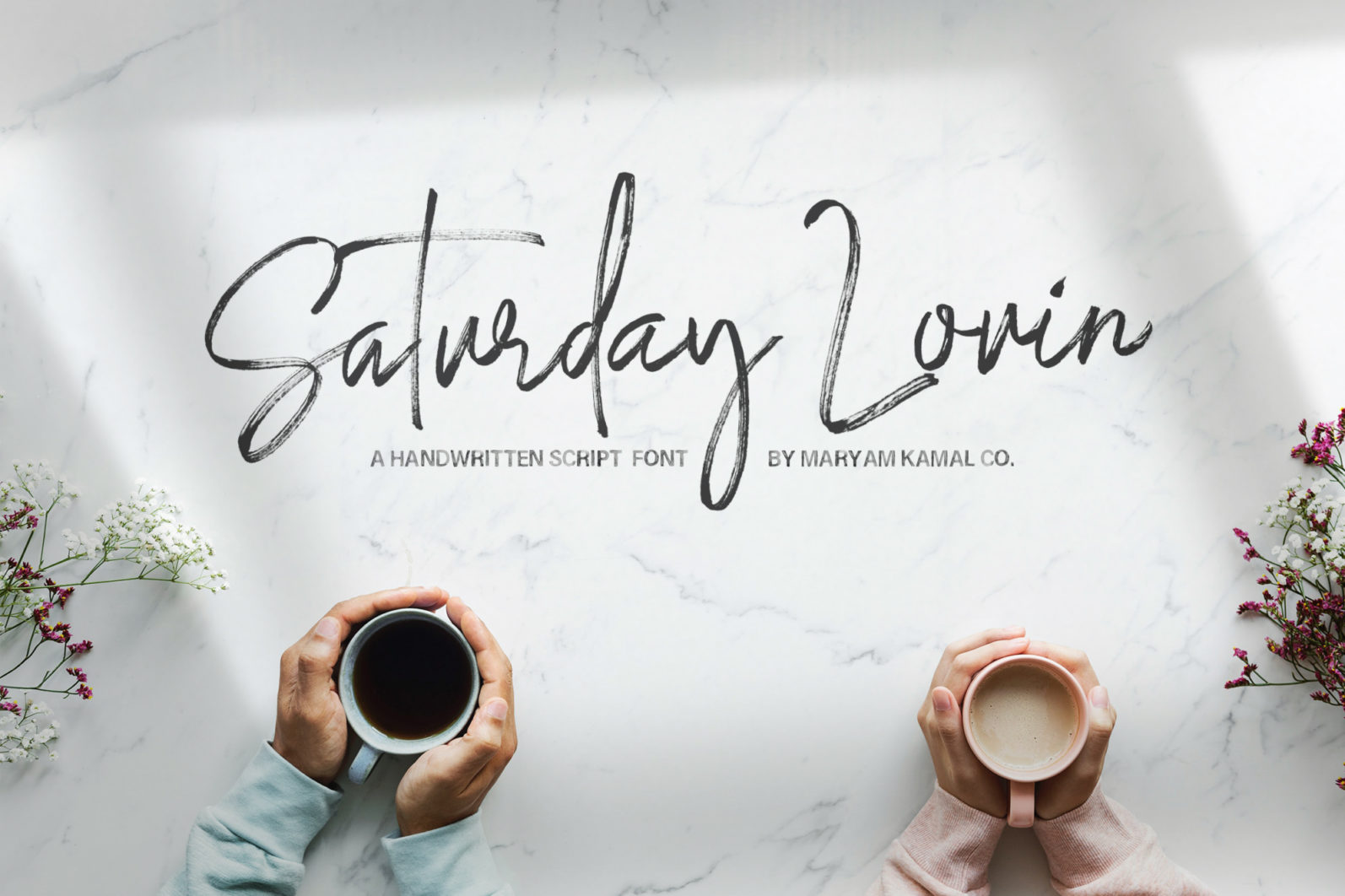 Saturday Lovin Font Collection - VIEW N -