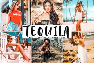 $1 Lightroom Preset Deals - Tequila Mobile Desktop Lightroom Presets Cover -