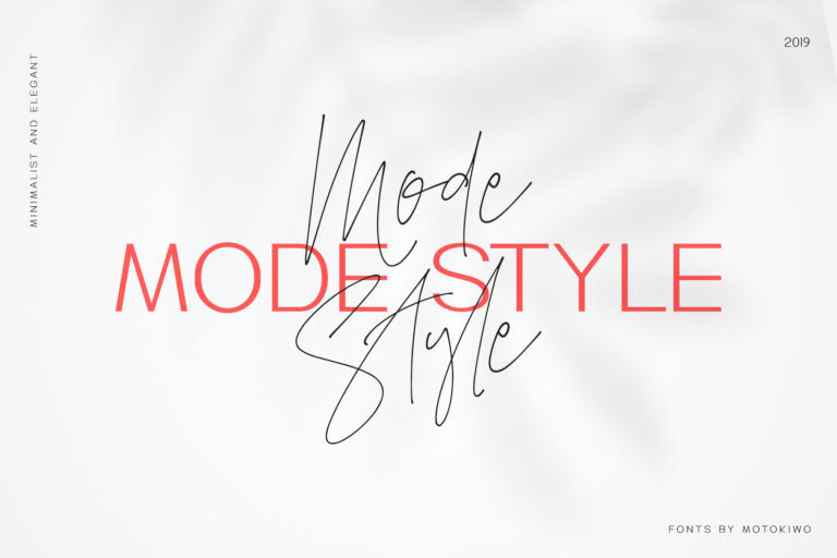 Mode Style Font Duo - 0000 -