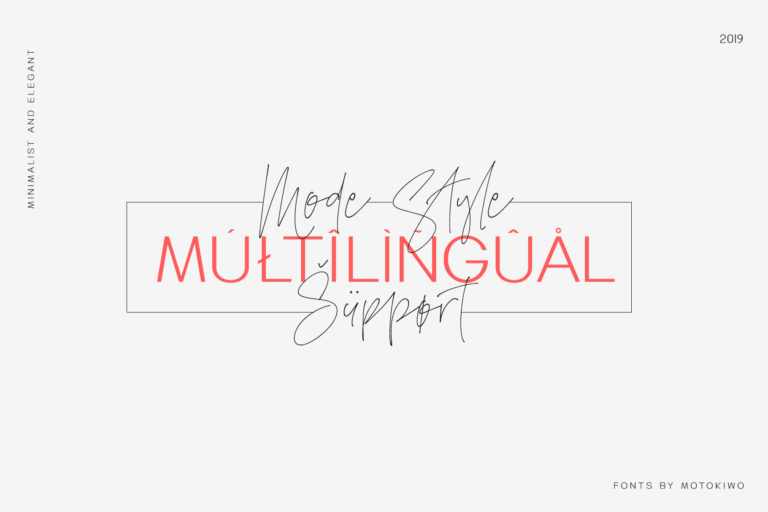 Mode Style Font Duo - 4150 -