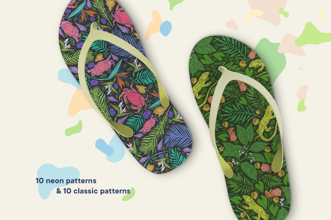 Life in the Tropics patterns - 4250 -