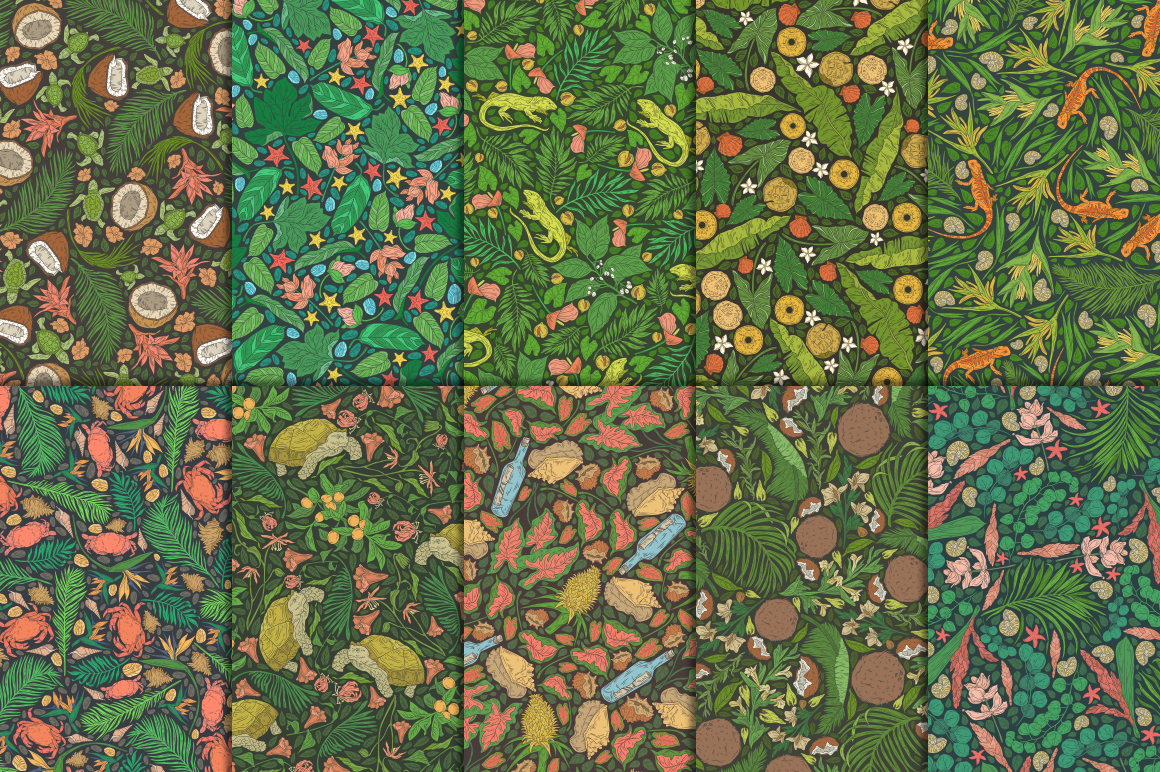 Life in the Tropics patterns - 12108 -