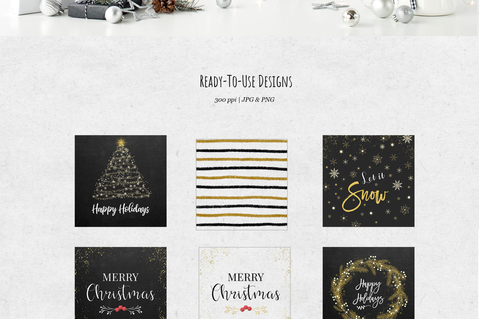 Black & Gold Christmas - chirstmas black gold arrangements -