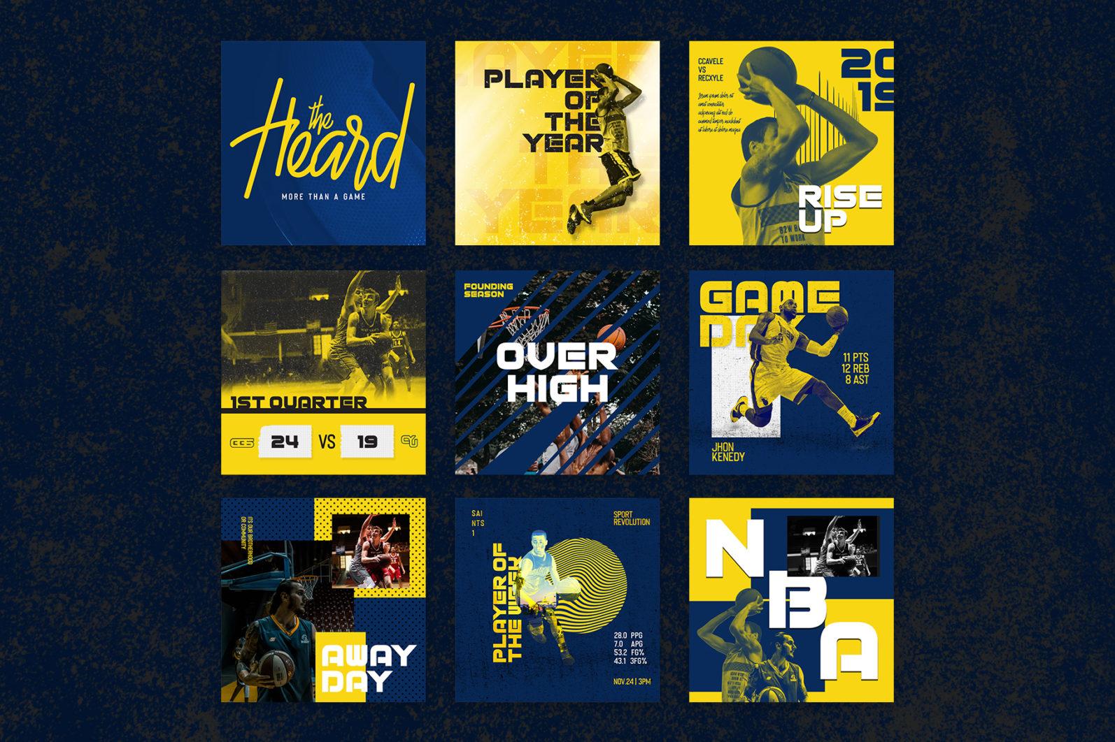 Basketball Instagram Templates - full for studio2 copy 33 -