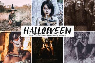 Free Lightroom Presets - Halloween 2019 Mobile Desktop Lightroom Presets Cover -