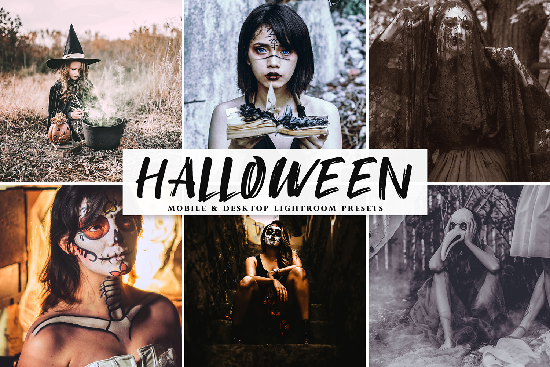Halloween 2019 Mobile & Desktop Lightroom Presets - Halloween 2019 Mobile Desktop Lightroom Presets Cover -