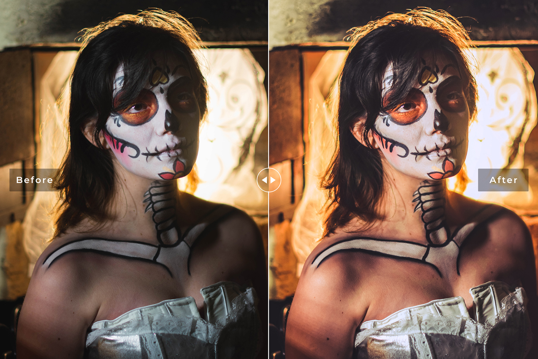 Halloween 2019 Mobile & Desktop Lightroom Presets - Preview 410 -