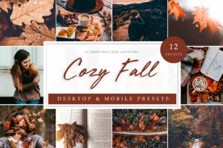 Lifestyle Lightroom Presets - Cozy Fall LR -