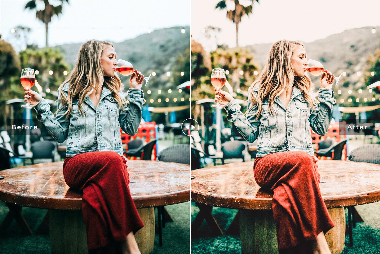 Champagne Mobile & Desktop Lightroom Presets - Preview 15 -