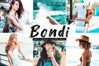 $1 Lightroom Preset Deals - Bondi Mobile Desktop Lightroom Presets Cover -
