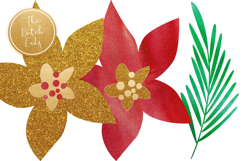 Christmas Clip Art clipart - Christmas, Flower, transparent clip art