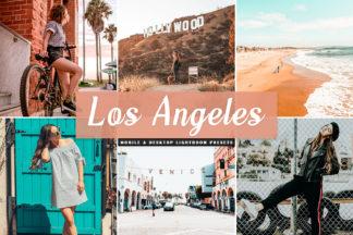 Free Lightroom Presets - Los Angeles Mobile Desktop Lightroom Presets Cover -