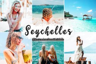 $1 Lightroom Preset Deals - Seychelles Mobile Desktop Lightroom Presets Cover -