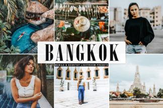 $1 Lightroom Preset Deals - Bangkok Mobile Desktop Lightroom Presets Cover -