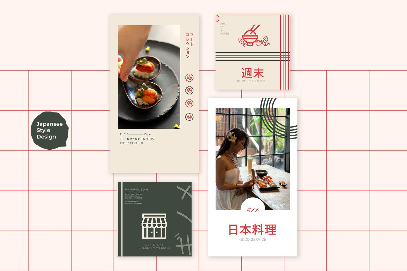 Japan Food Instagram Templates - new mockupp9 copy 2 -