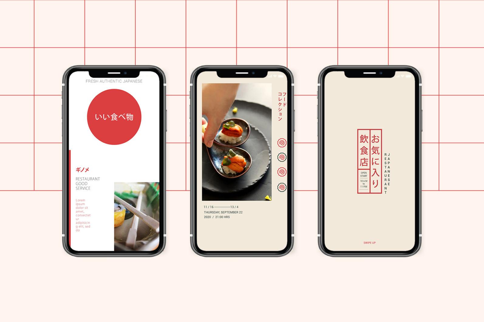 Japan Food Instagram Templates - new mockupp9 -