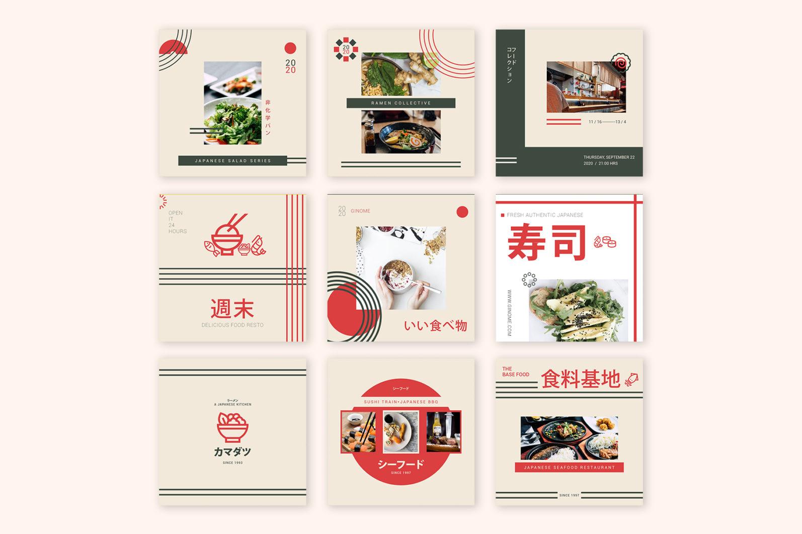 Japan Food Instagram Templates - new mockupp2 -