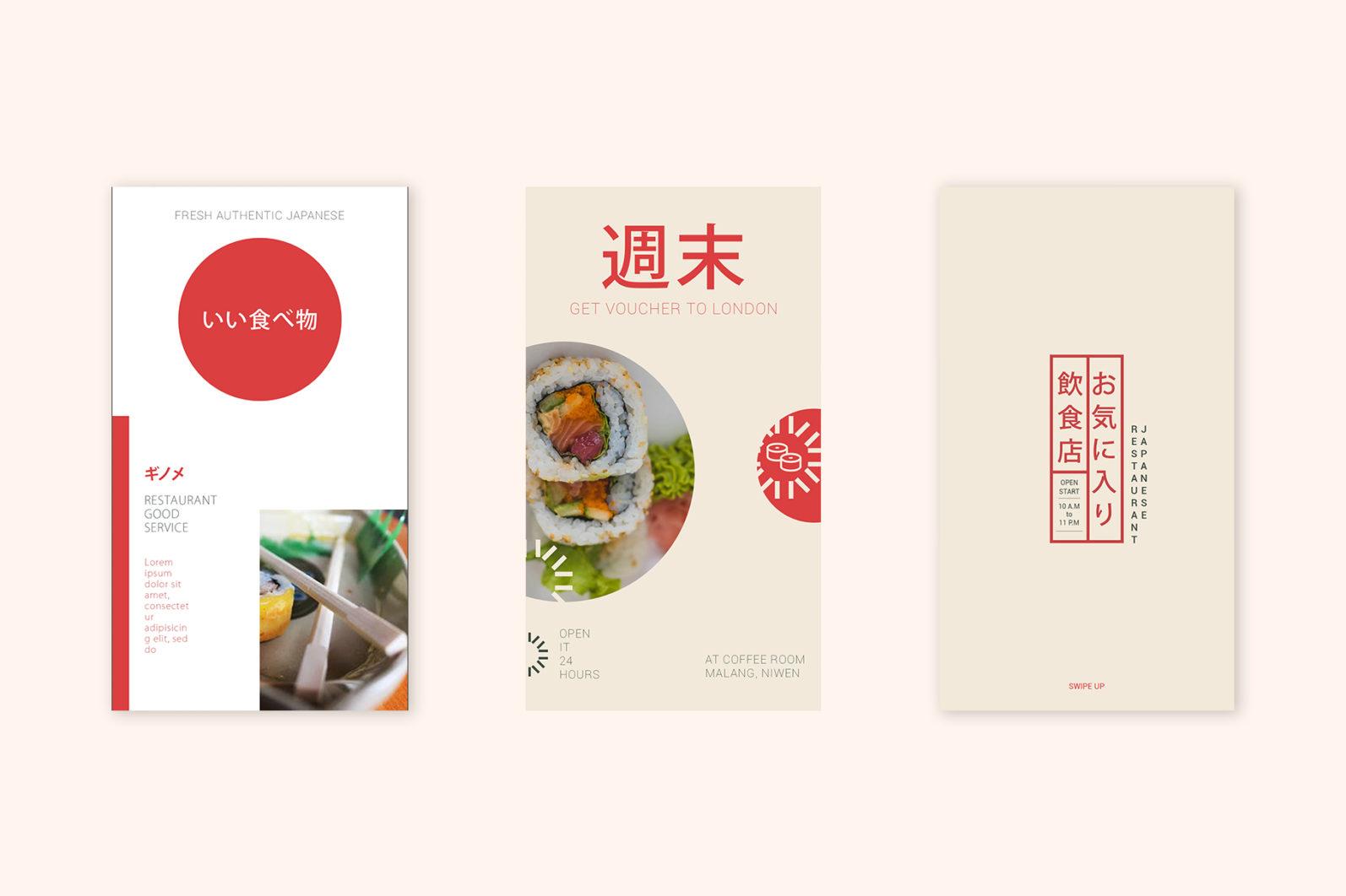 Japan Food Instagram Templates - new mockupp3 copy 3 -