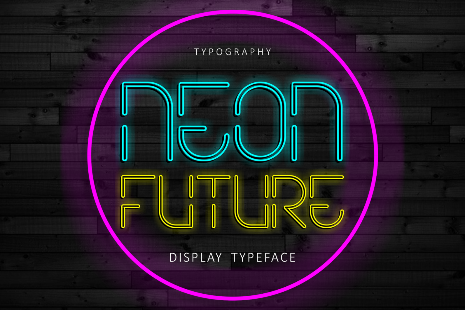 Creative Font Bundle - Preview Neon Future 1 -