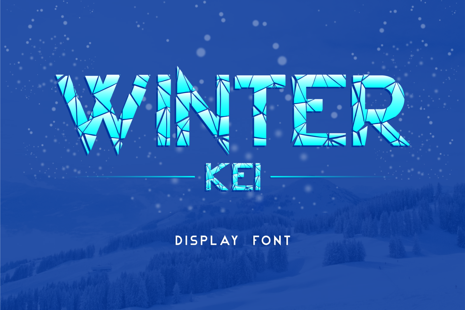 Creative Font Bundle - Preview Winter Kei 1 -