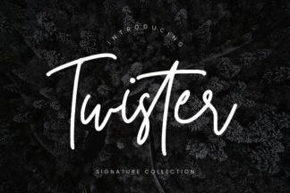$1 Font Deals - Twister Preview 01 -