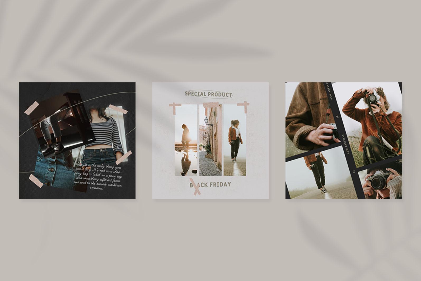 Fashion Instagram Templates - 9 26 -