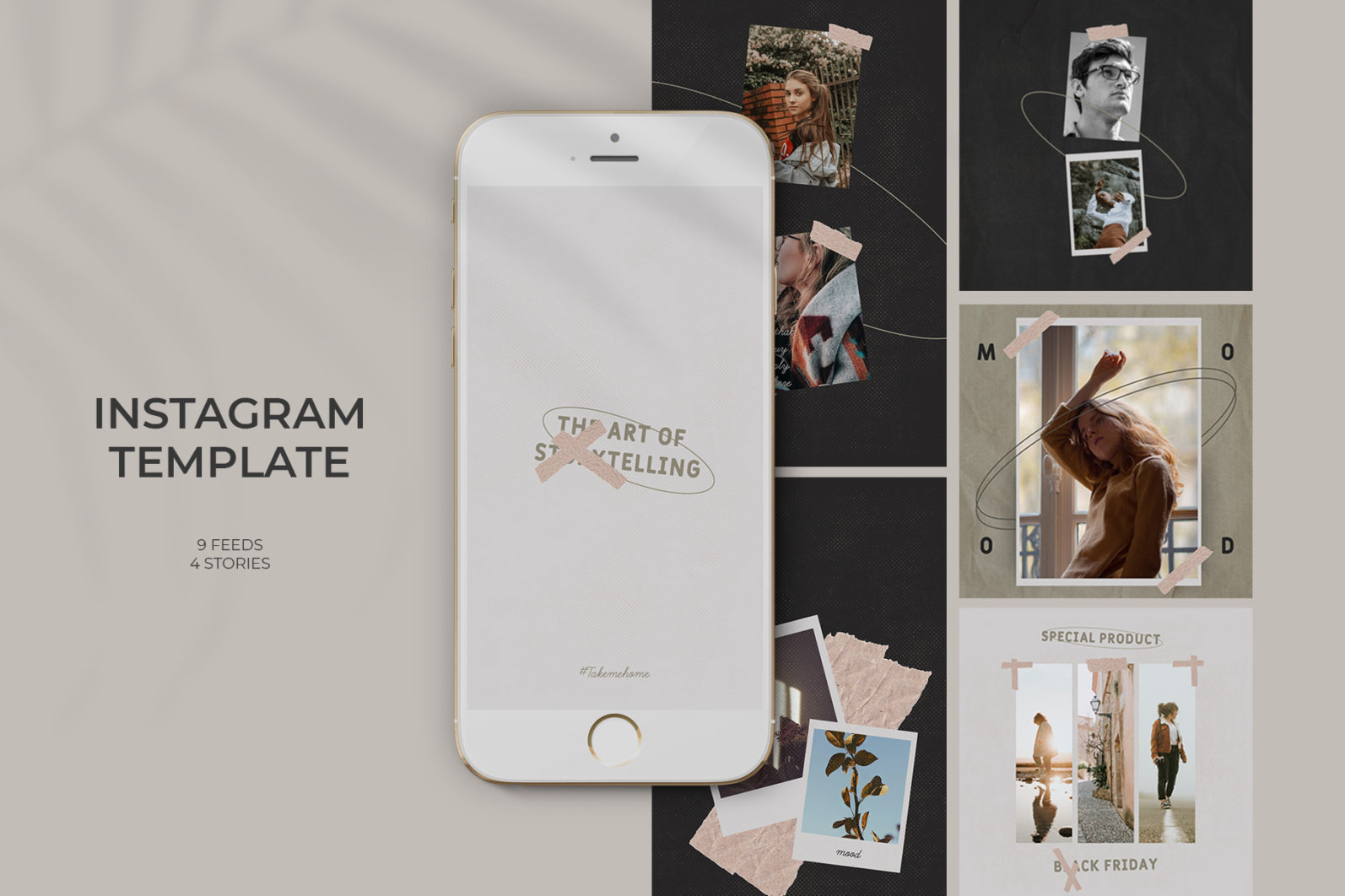 Fashion Instagram Templates - 1 98 -