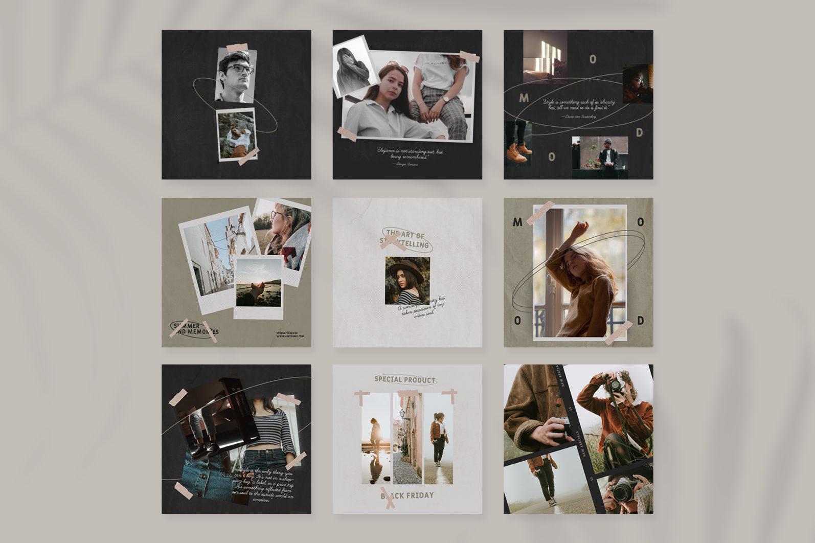 Fashion Instagram Templates - 2 102 -