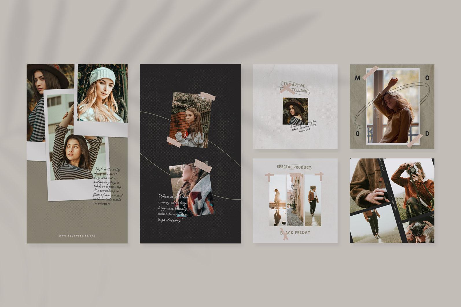 Fashion Instagram Templates - 6 45 -