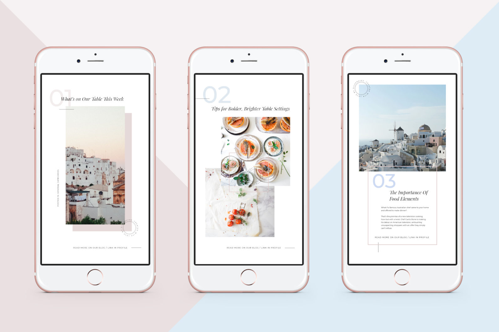 CANVA Modern Instagram Stories Pack - 01 animated modern food travel instagram stories pack 1 -