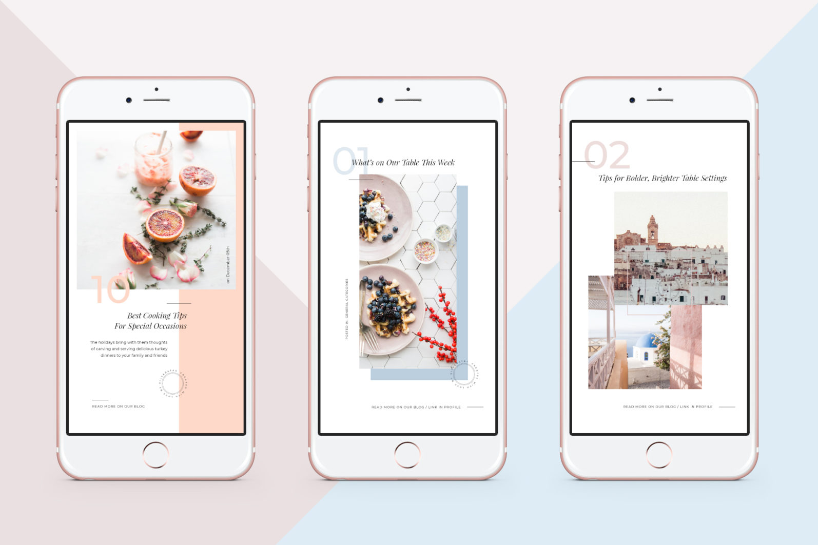 CANVA Modern Instagram Stories Pack - 04 animated modern food travel instagram stories pack 1 -