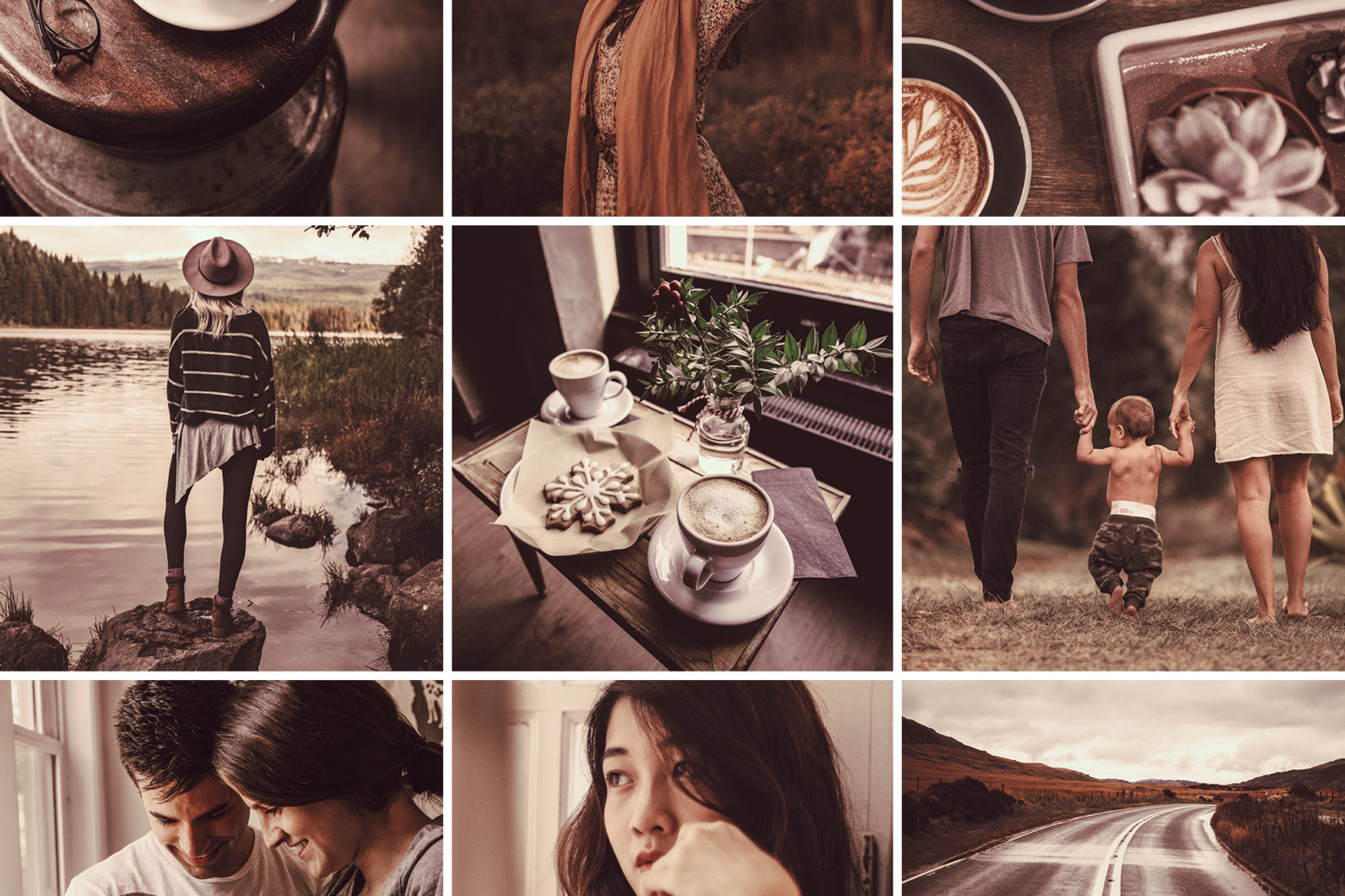 15 Mobile Presets CAPPUCCINO - lightroom presets cover product 3 -