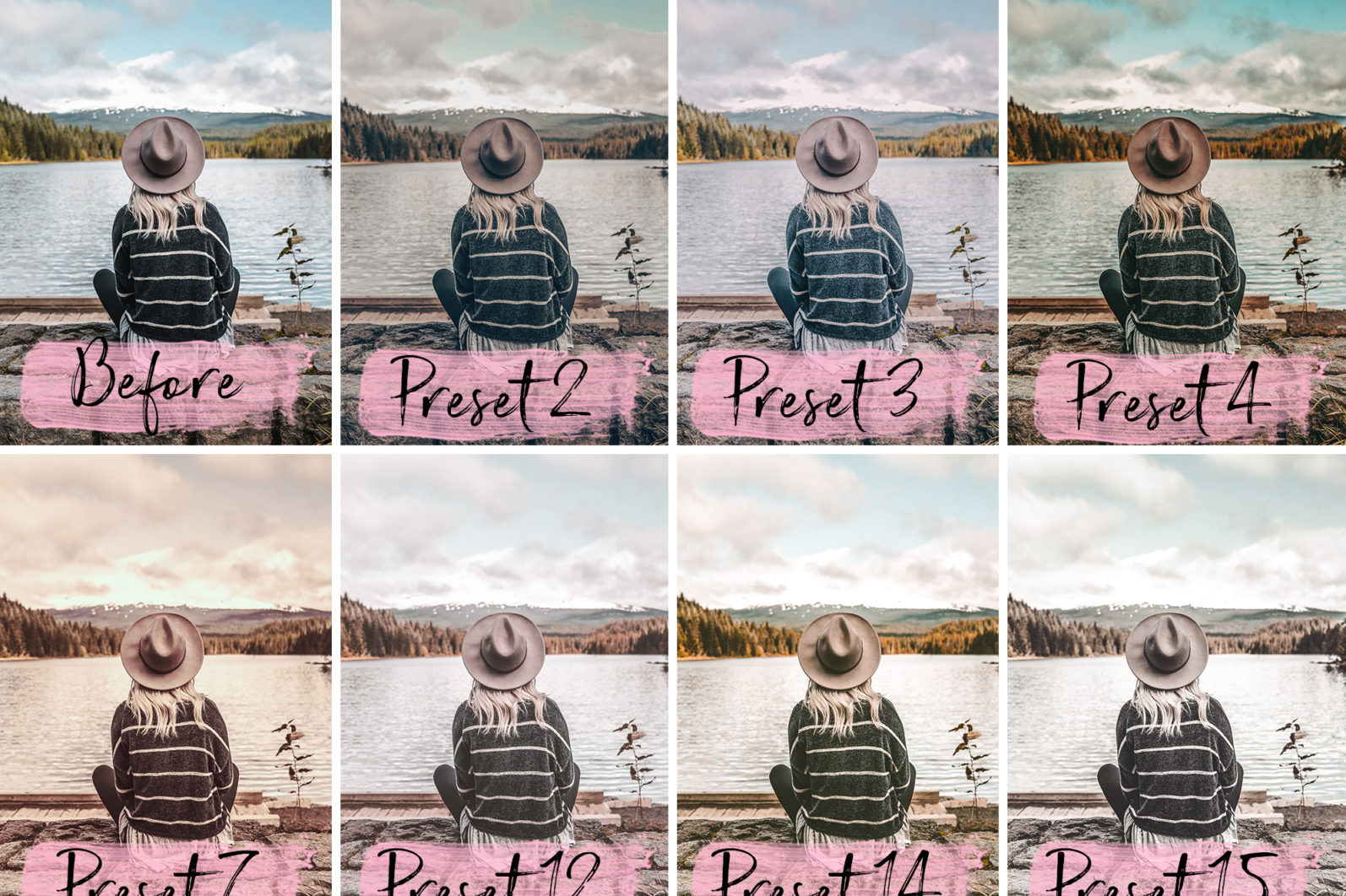 15 Mobile Presets CAPPUCCINO - lightroom presets cover product 4 -