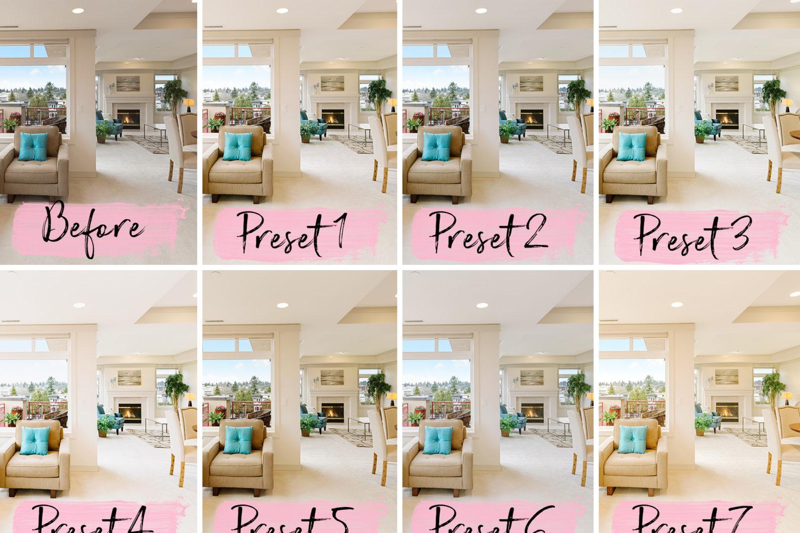 15 Mobile Lightroom Presets REAL ESTATE - lightroom presets cover product 4 1 -