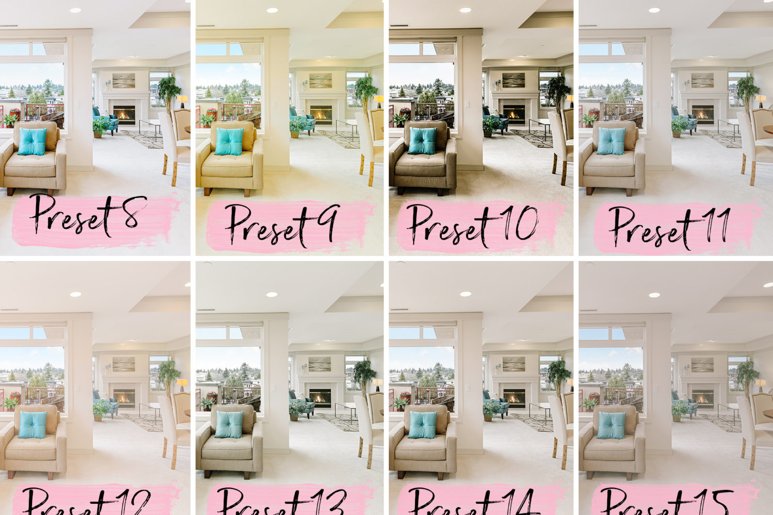 15 Mobile Lightroom Presets REAL ESTATE - lightroom presets cover product 5 1 -