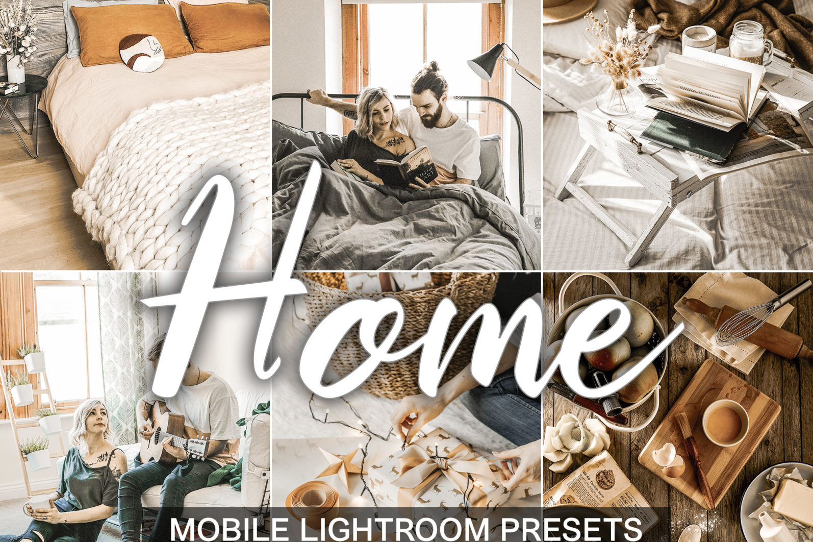 15 Mobile Presets HOME - Home presets cover product -