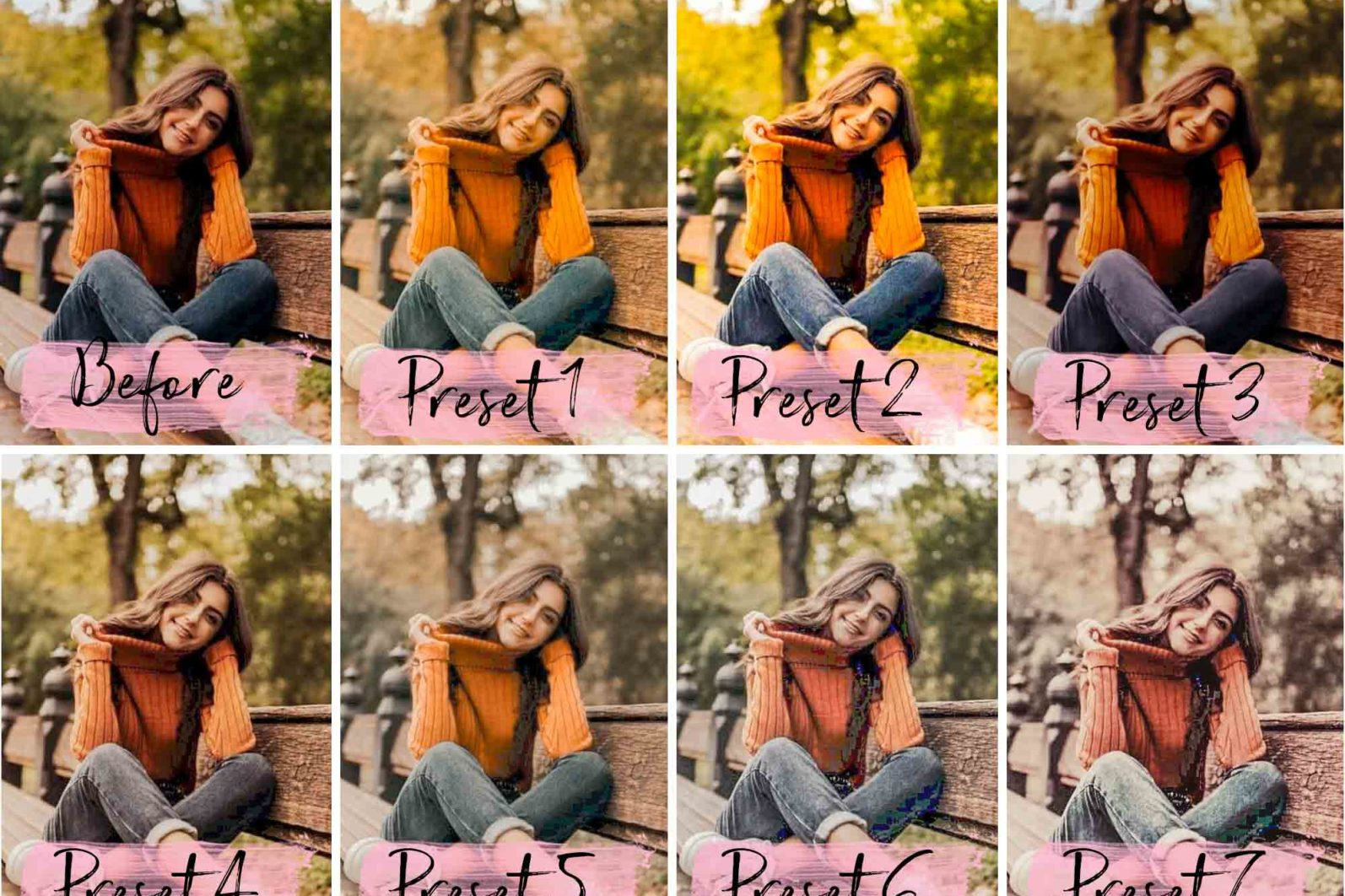 15 Mobile Presets FALL - lightroom presets cover product 4 8 -