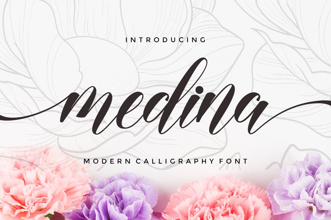 Medina Script - Untitled 1 5 -