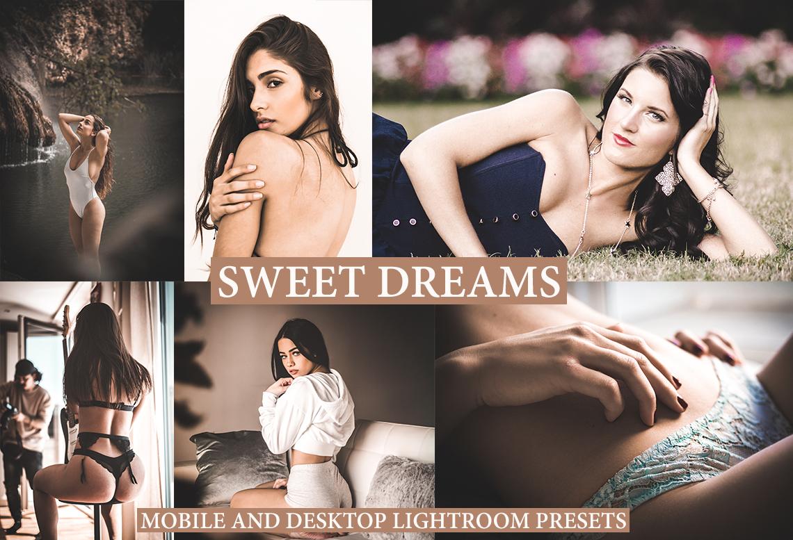 SWEET DREAMS Mobile and Desktop Lightroom Presets - preview 1 17 -