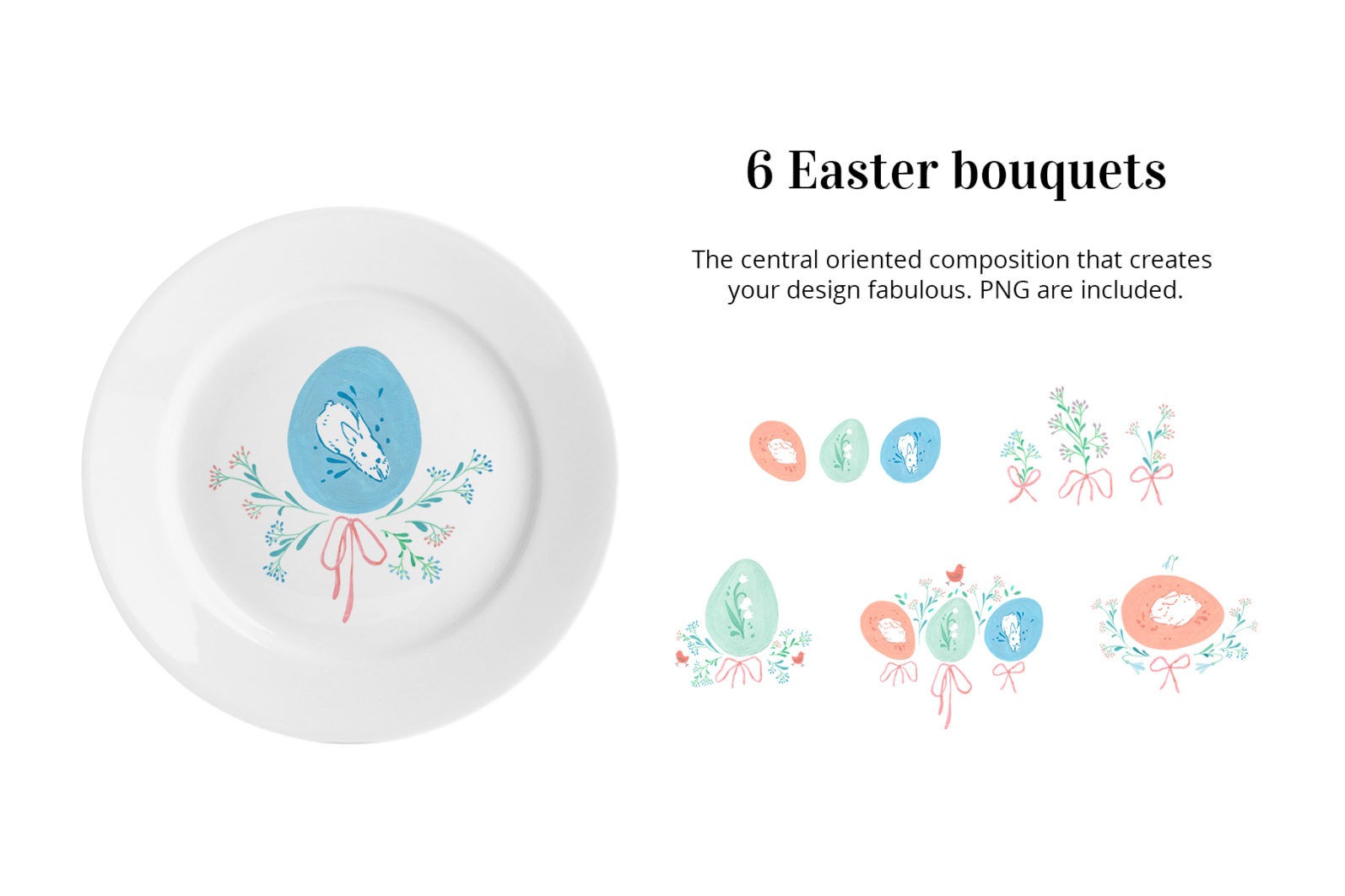 MAGICAL EASTER TRADITION - easter egg bouquets -
