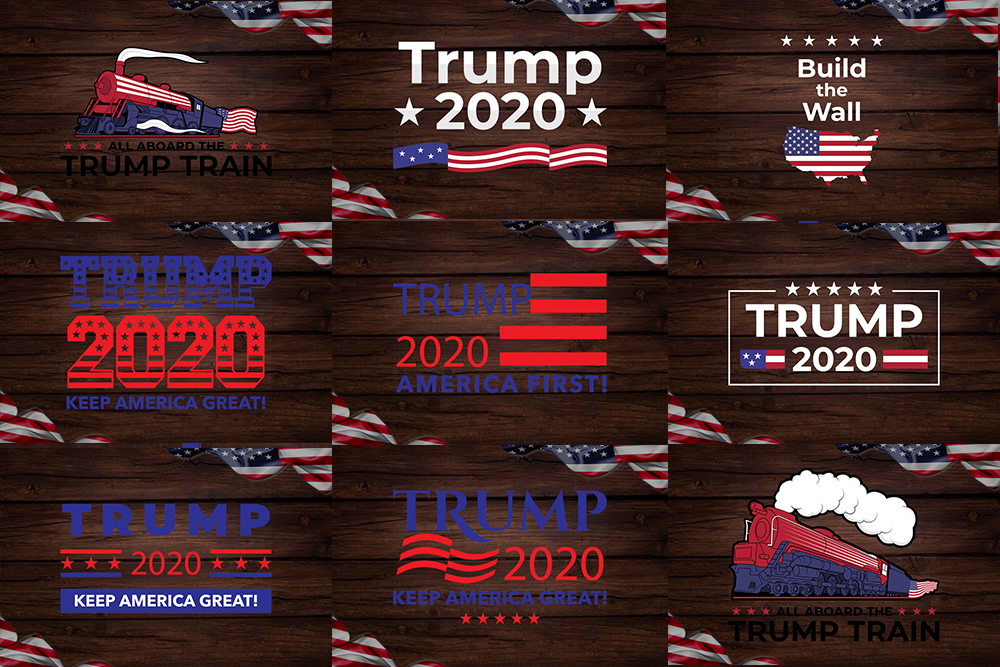 Trump Clipart Svg Bundle Crella