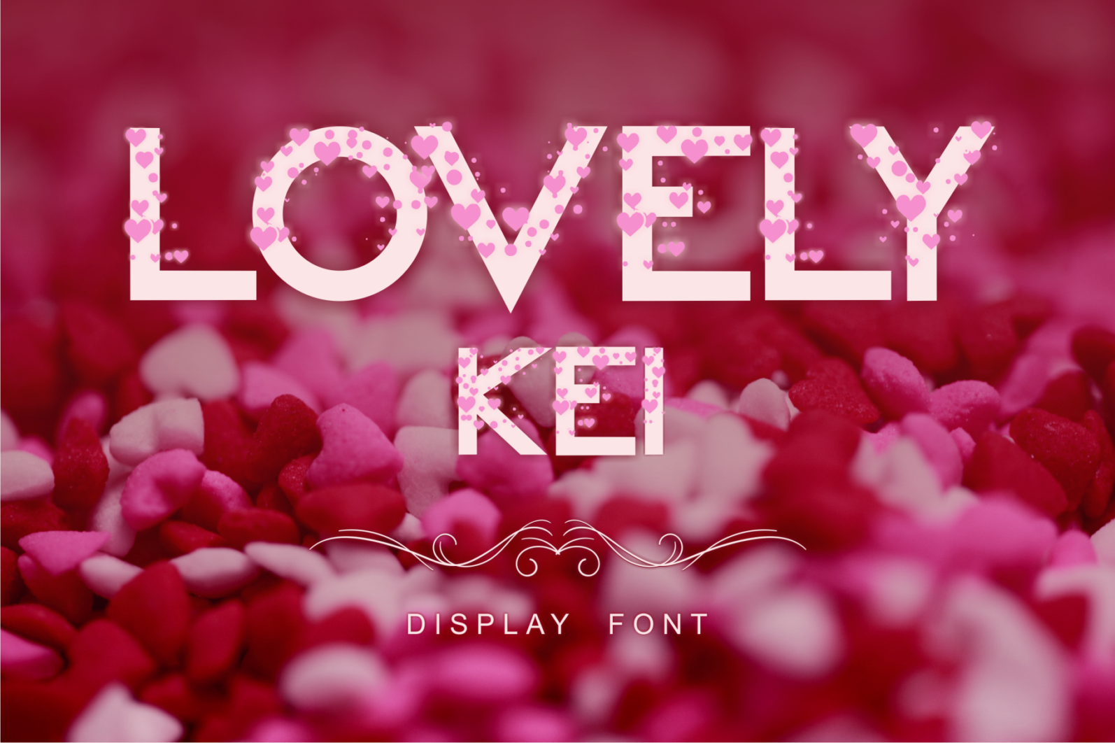 Creative Font Bundle - Preview Lovely Kei 1 -