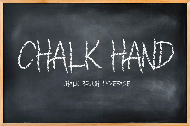 Brush Font Bundle - 45 Fonts - CHALK HAND COVER -
