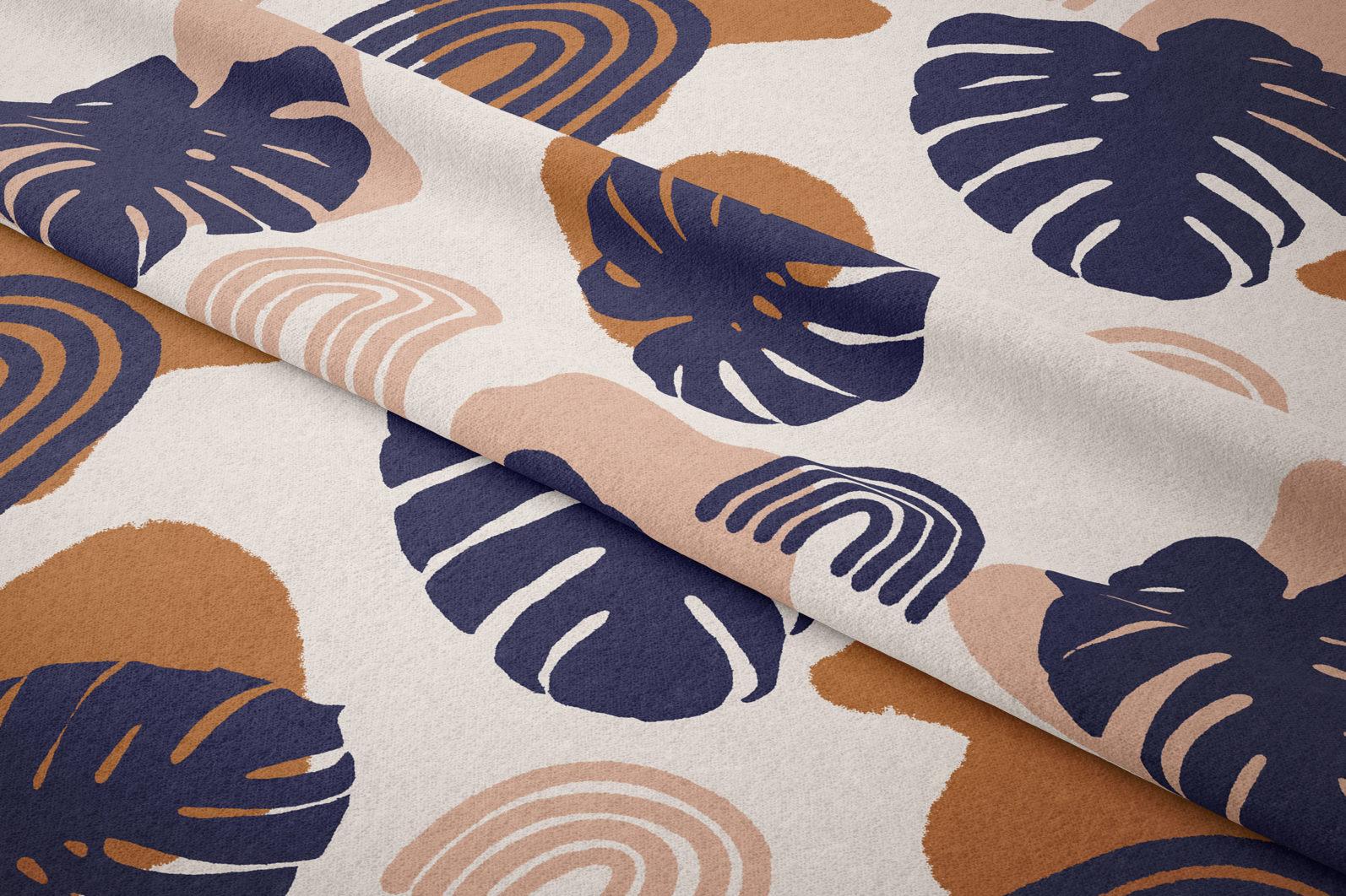 Palm leaves seamless pattern - 4 29 -