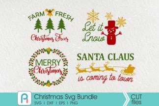 Christmas Svg Bundle Christmas Svg File Christmas Graphics Crella