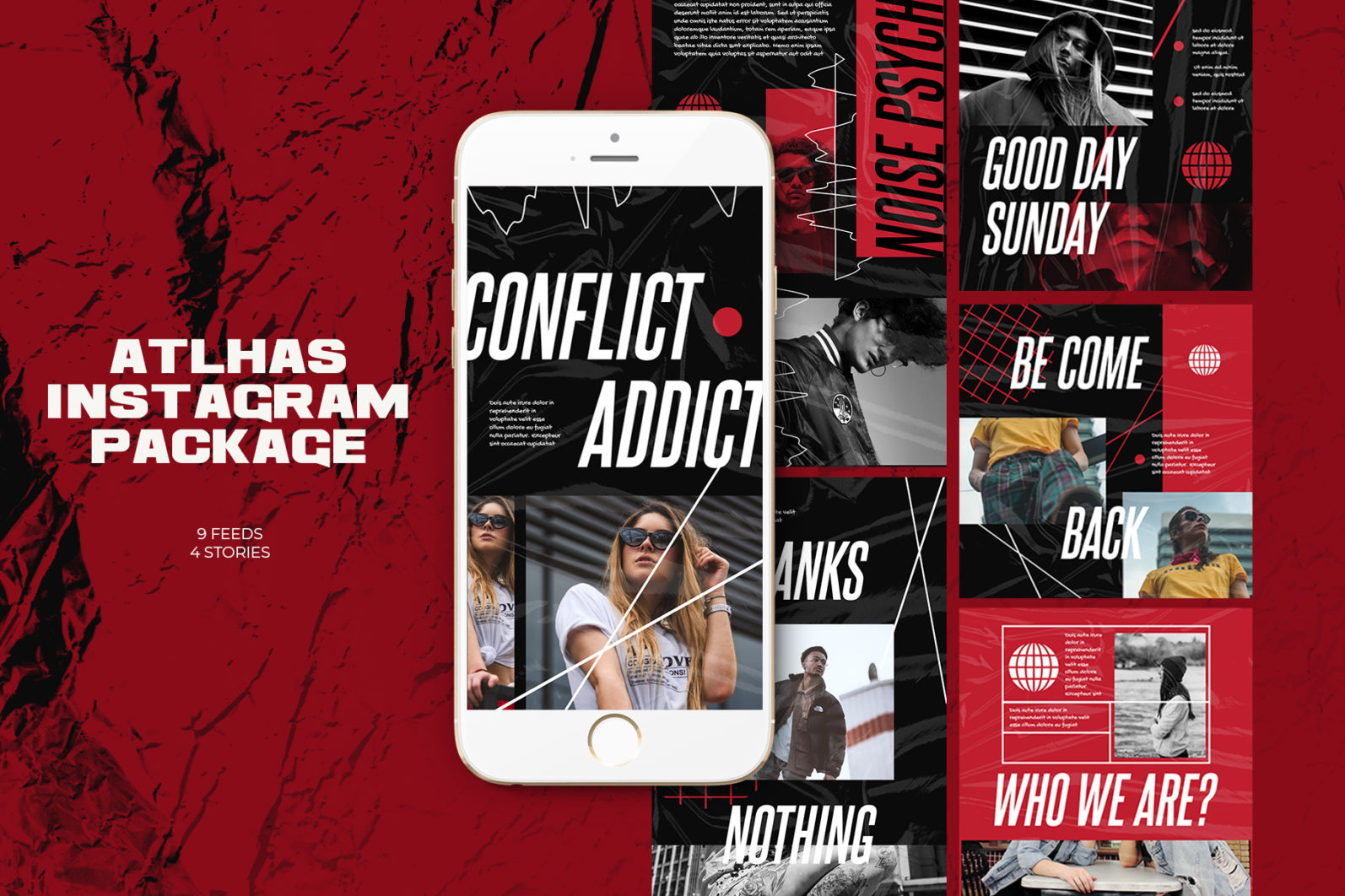Atlhas Instagram Templates - 9 feed 4 story1 8 -