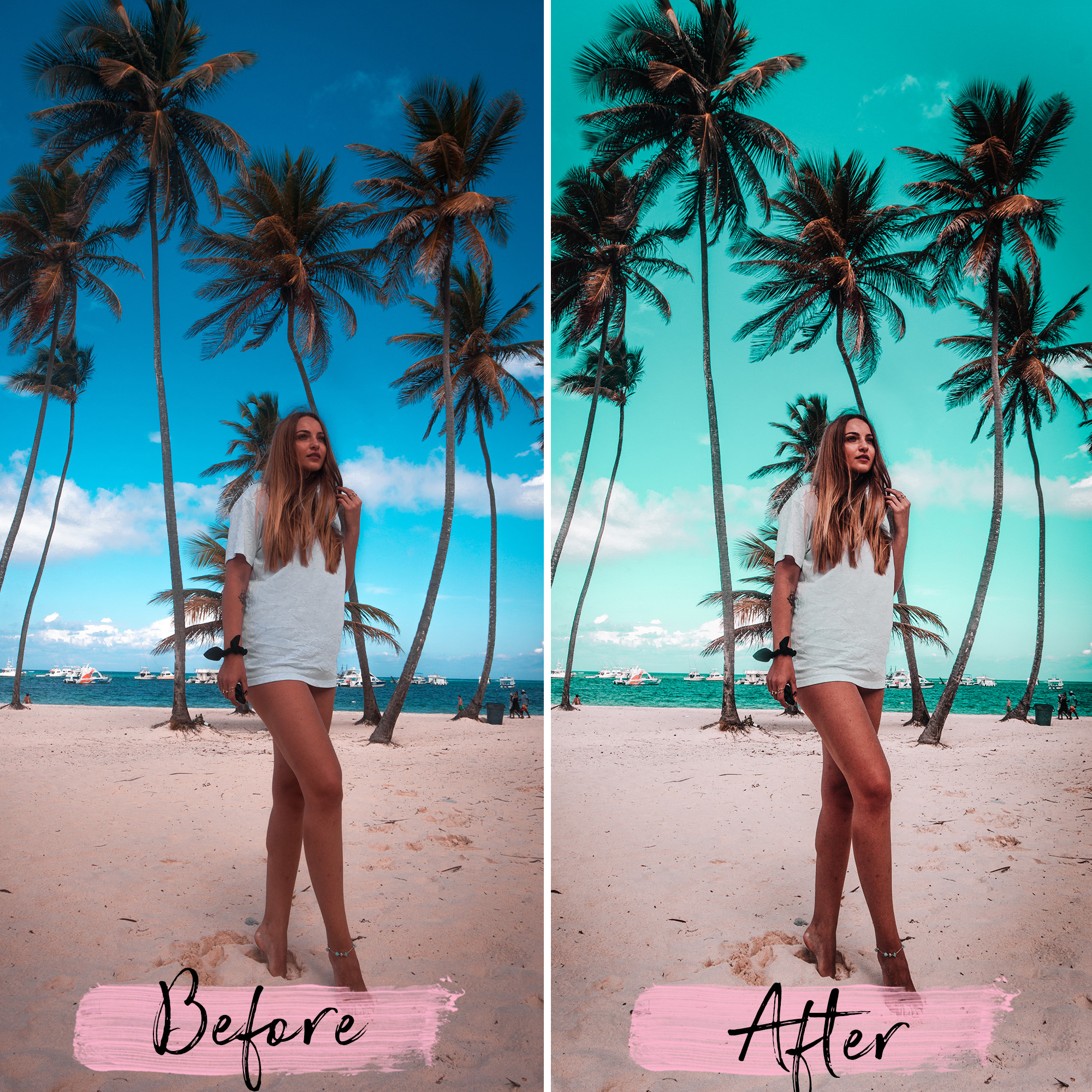 Promotional materials - lightroom presets cover product 7 -