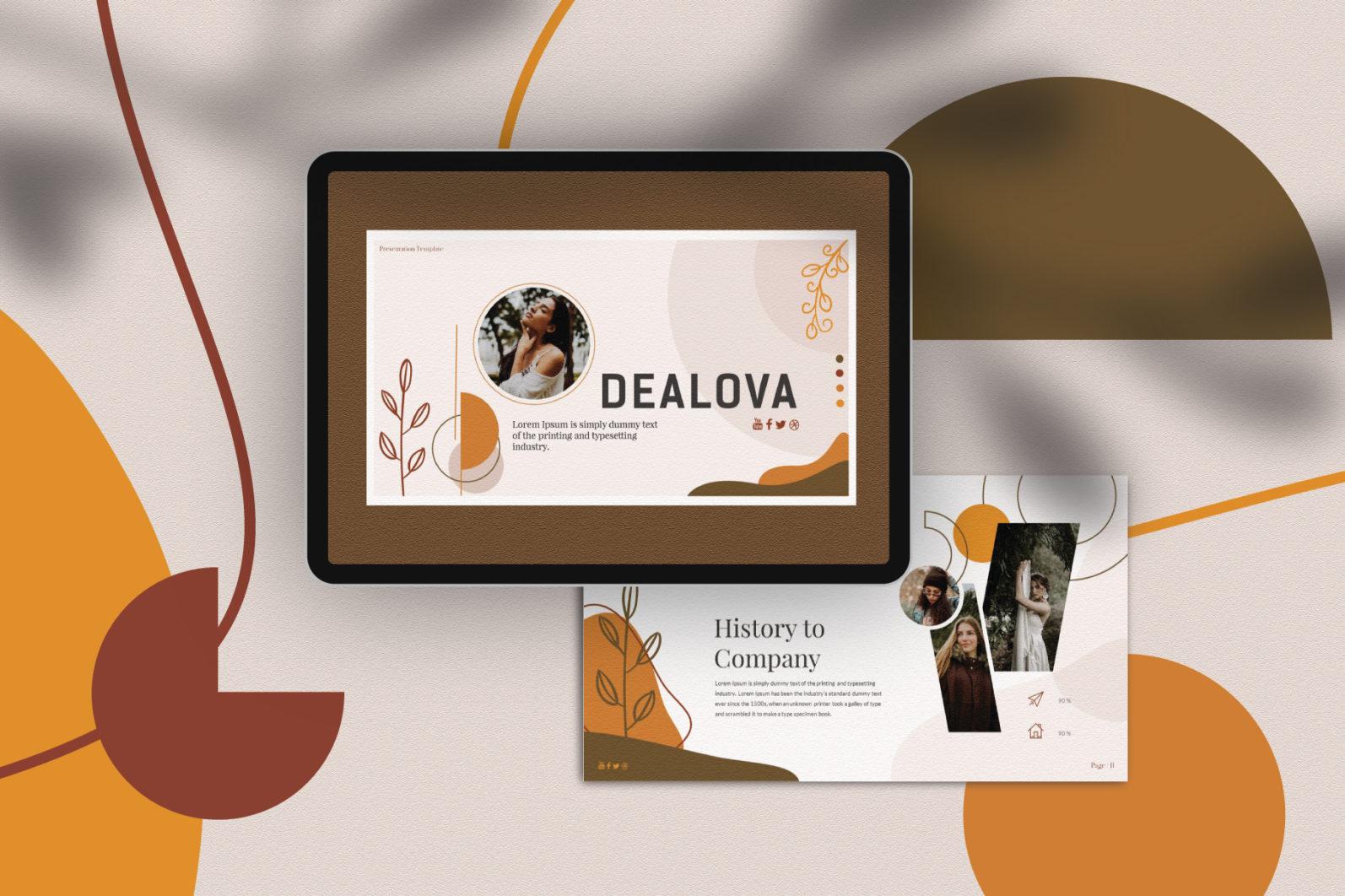 Dealova Keynote Template - PW 01c -