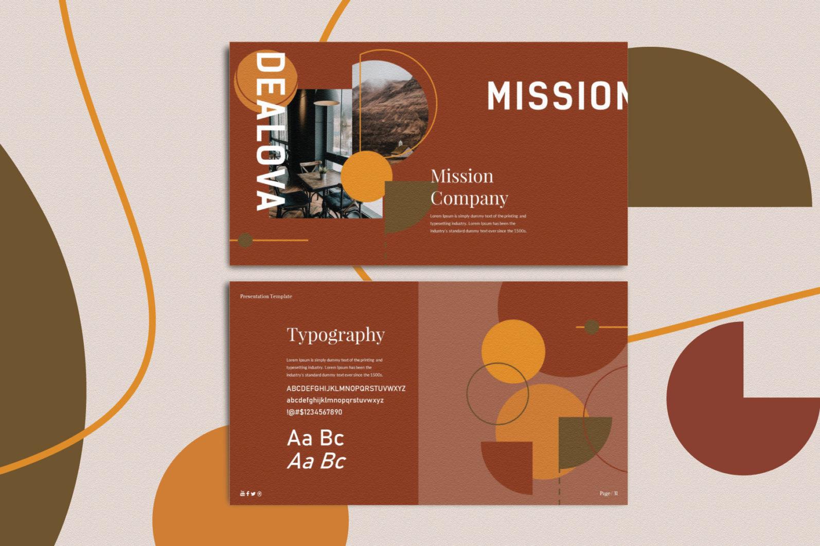 Dealova Keynote Template - PW 01d -