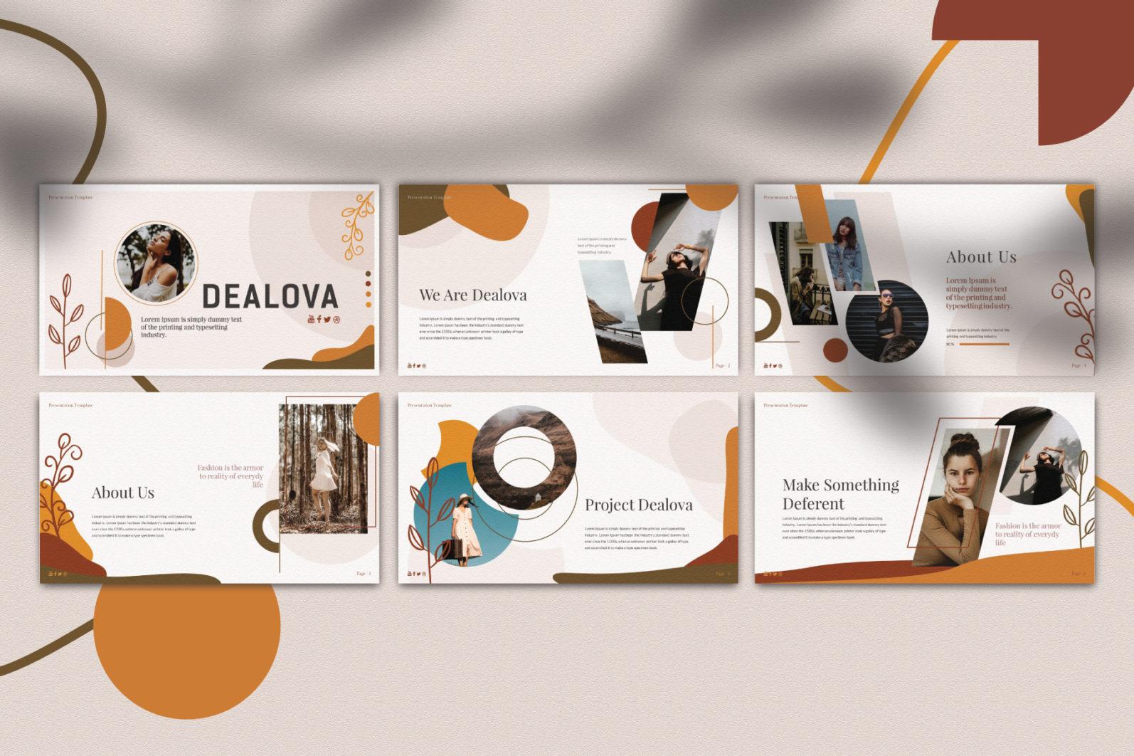 Dealova Keynote Template - PW 02 -